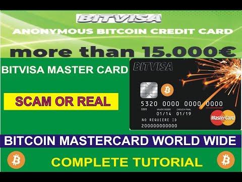 Bitvisa bitcoin world wide Master card bitvisa Scam or real | Bitvisa review |  Bitvisa fake or real