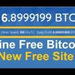 New Free Bitcoin CLOUD MINING  Site | 100GH/S Free Bouns |  No Investment