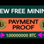 New Free Bitcoin Cloud Mining | 24HOURS Bitcoin Payment Proof