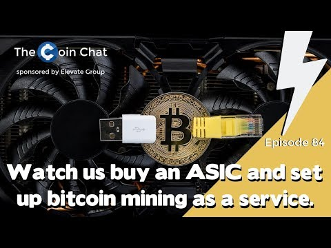 Watch Us Buy an ASIC and Set Up Bitcoin Mining as a Service