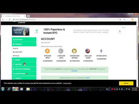 NEW FREE BITCOIN CLOUD MINING SITES | 1.49 USD DOLLAR PAYMENT PROOF