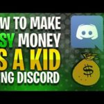 How To Make 100$ Easy Using Discord!-How To Make Money Online As a Kid