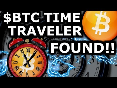 Bitcoin Time Traveler Found! Changing The Timeline?  100k BTC 2019 Then To 1 Million? Crypto News
