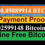 New FREE BITCOIN Cloud Mining Site 2019 || Earn 0.01 Bitcoin Daily 100% withdrawal