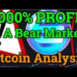 1,000% Profit In Bear Market! Bitcoin Technical Analysis! Bitmex Trading + Enjin/Cryptocurrency News