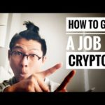 3 Tips on How to Get a Job (Career) in Blockchain & Crypto for 2018!