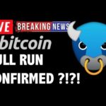 Bitcoin BULL RUN CONFIRMED?! – LIVE Crypto Market Trading Analysis & BTC Cryptocurrency Price News