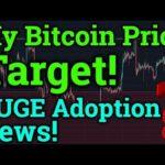 My Bitcoin Price Target For Bitmex Trading! BTC ADOPTION! Cryptocurrency Analysis/Ripple XRP News