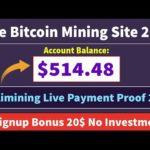 Axulimining Limited | Free Bitcoin Mining Site Live Withdrawal Payment Proof 2019 | Signup Bonus 20$