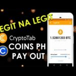 Coins Ph - Earn Free Bitcoins with CryptoTab Browser (Mining Bitcoins)