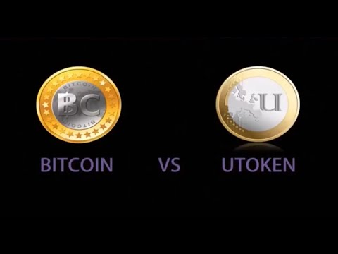 Bitcoin VS UToken…And why UToken is BEST