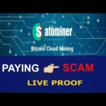 BEST FREE BITCOIN MINING SITE | Satominer Payment Proof 2019