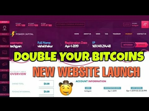 Earn 0.01 Bitcoin Daily New Best Bitcoin Mining Website 2019 - 20$ Live Proof