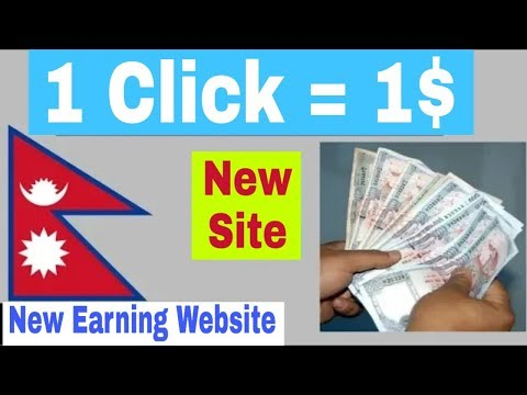 Make Money Online with Money4Click | 120445 | Instant Payment via PayPal, Bitcoin etc in Nepali