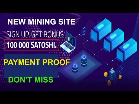 NEW FREE BITCOIN CLOUD MINING SITE | CICIMINING PAYMENT PROOF