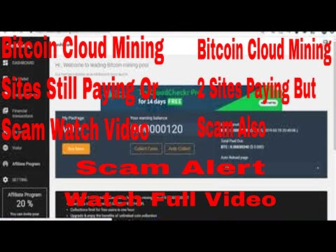 Bitcoin Cloud Mining Sites Scam | freemining.club - multimining.website Scam Or Paying