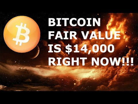 BITCOIN BTC FAIR VALUE IS $14,000 AS OF RIGHT NOW! TOM LEE SAYS