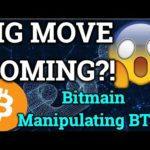 BIG Bitcoin Move Coming?! Bitmain MANIPULATING Price?! Ripple News + Cryptocurrency Trading Analysis