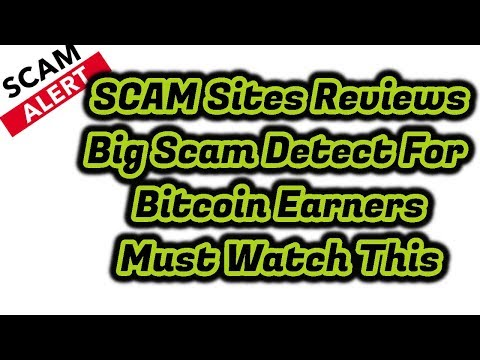 Scam Site Review || Bitcoin Scam Earning Sites Alert || #1