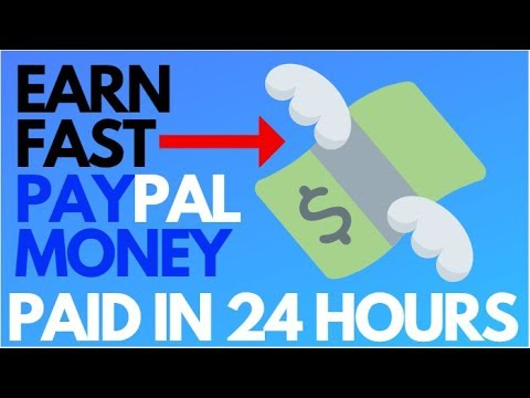 Make Money Online FAST | 3 Sites To Earn FAST & FREE PayPal Money