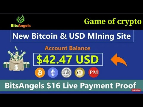 bitsangels full review new Bitcoin Mining Site 2019 || Earn Daily $20 Live