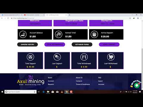 Axulimining Limited Free Bitcoin Mining Site