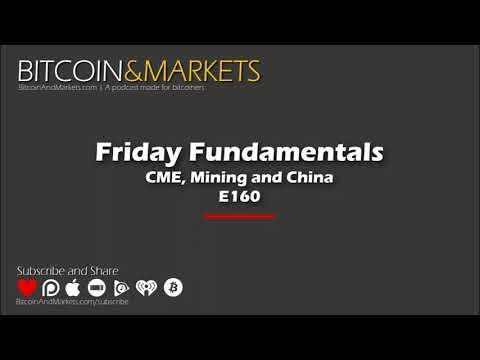 CME, Mining and China | Bitcoin & Markets - 4/5/2019 - E160