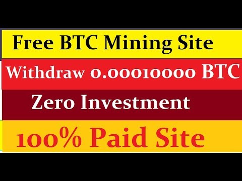 FREE BITCOIN TOP MINING SITE 2019 || Bitsfree 0.00010000 BTC Earn || BEST FREE MINING SITE