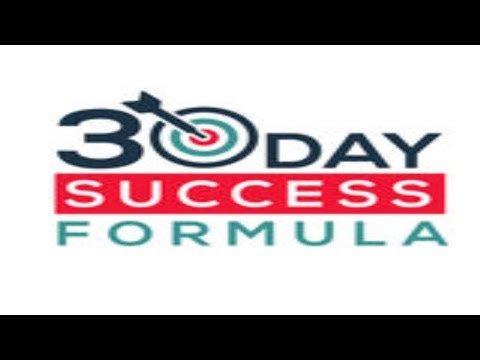 Unable TO Make Money Online - 30 Day Success Formula Was His Solution