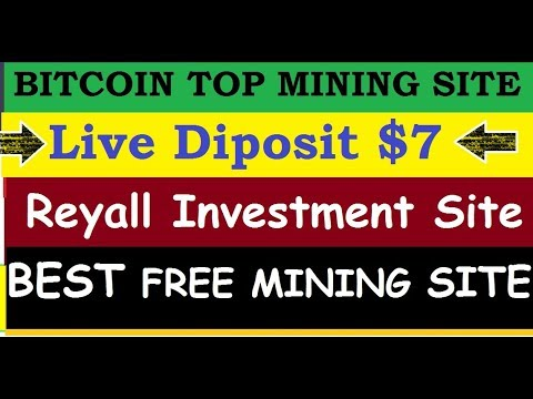 FREE BITCOIN TOP MINING SITE 2019 || Live Diposit $7 || Orgorealm BTC Earn BEST FREE MINING SITE