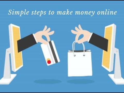 How to make easy money online- simple steps to start an online business