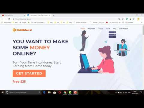 Make Money Online with Click2Referral | 177197 | Instant payment via PayPal, Bitcoin etc