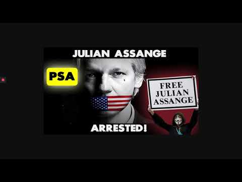 WikiLeaks Julian Assange Arrested  and Bitcoin news!
