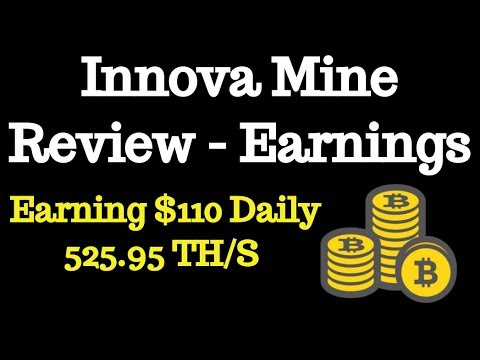 InnovaMine.io Review - $110/Daily With 525 Cloud Mining Hashpower Scam or Legit
