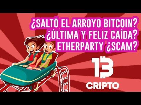 Bitcoin según el método wyckoff, ¿próxima caída? ¿Etherparty scam?