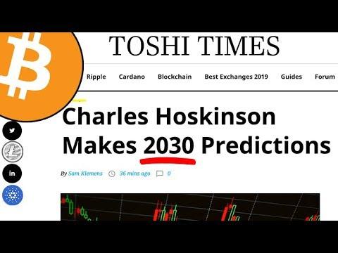 Charles Hoskinson Makes 2030 Predictions | Bakkt CEO Expands Exec Team | Bitcoin & Crypto News