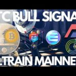 Bitcoin Bull Signal, Ultrain Mainnet, Enjin Update – Crypto News