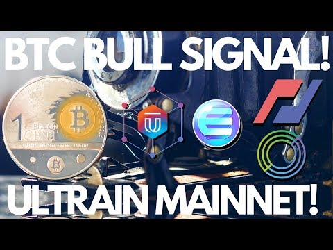 Bitcoin Bull Signal, Ultrain Mainnet, Enjin Update - Crypto News