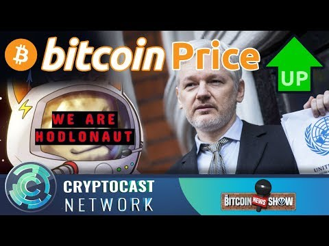 The Bitcoin News Show #105 - Bitcoin over 5k, We're all Hodlnaut, Assange's BTC Donations