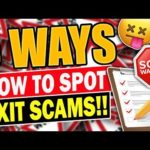 5 ways how to spot EXIT SCAM INVESTMENT!