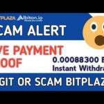 Lagit or scam || New BITCOIN Cloudmining Site || live Payment Proof Bitplaza Albiton Withdrawal