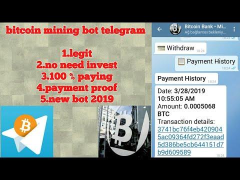 Telegram bitcoin mining legit 2019 payment proof
