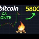 BITCOIN 5800$ ENFIN EN VUE !? btc analyse technique crypto monnaie