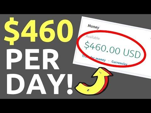 Best Way to Make Money Online 2019 ($460 Per Day)