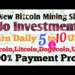 New Free Cloud Mining Site 2019! Free Bouns 10 USD