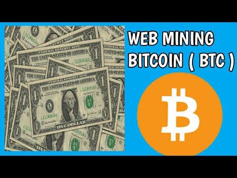 Web mining bitcoin ( BTC ) Tercepat