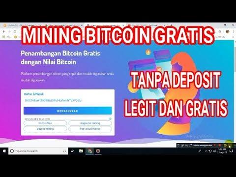 mining bitcoin terbaru gratis tanpa deposit