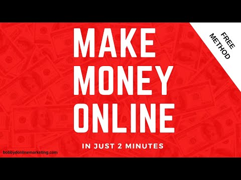 How to make Money Online in 2 MINUTES! (For Teenagers)