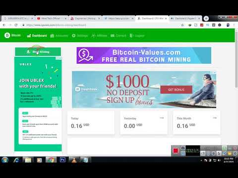 How to Mine Bitcoin | Get Instant Bitcoin In Your Account | Bitcoin Mining Free