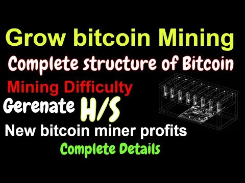 Bitcoin grow mining | bitcoin difficulty complete details